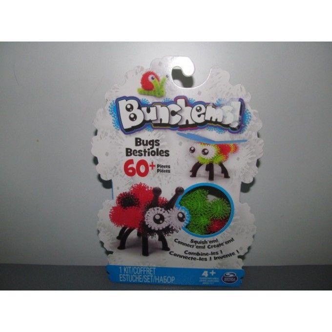 Набор для творчества Bunchems - Жуки, 60 деталей