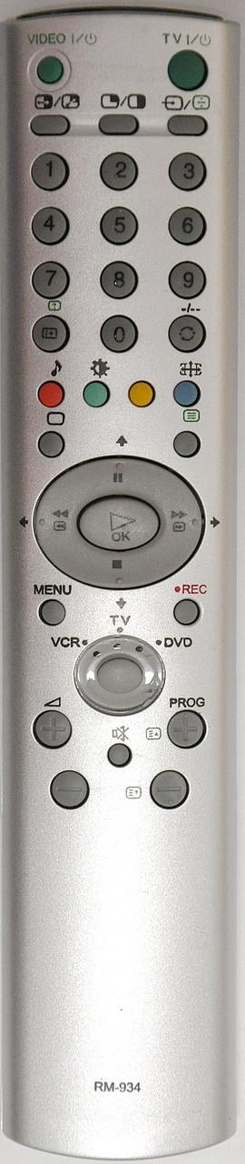 Пульт от телевизора SONY. Модель RM-934
