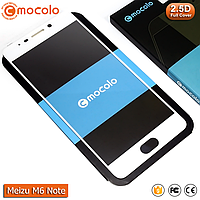Захисне скло Mocolo Meizu M6 Note Full cover (White), фото 1