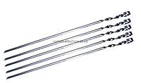Шампур уголок 580*10*2 мм нержавеющая сталь
