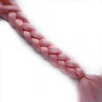 Канекалоновые косички-искусственные волосы из канекалона, боксерские косички, boxer braids- Розовые, фото 1