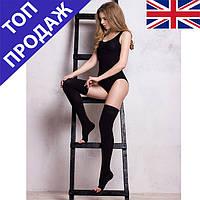 Компрессионные чулки Ifeel (открытый носок) black