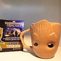 Кружка Marvel керамическая 3D Грут Стражи Галактики Guardians of the Galaxy 11.3D