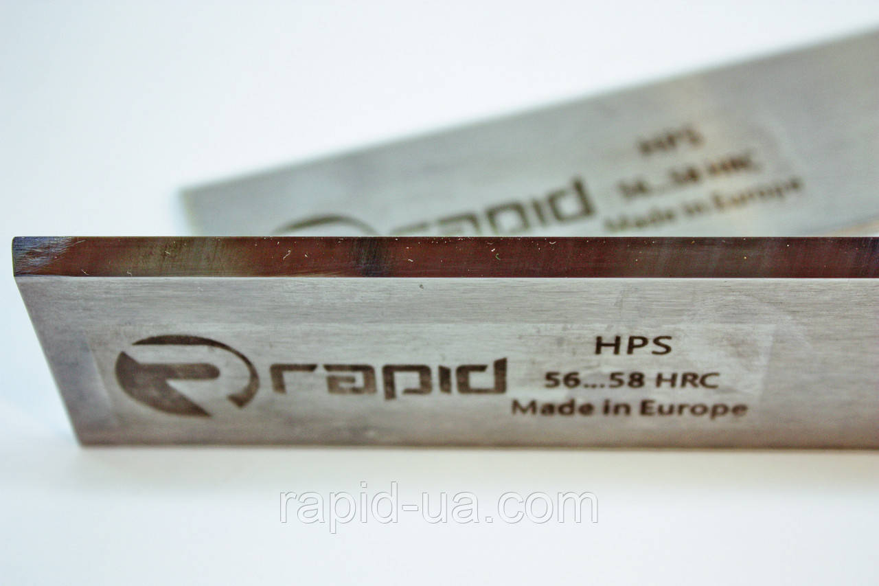 Фуговальный  нож 1150*40*3 (1150х40х3) по дереву HPS