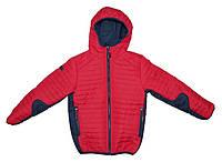 Куртка весна-осень на мальчика на одинарном холлофайбере,р.140-164