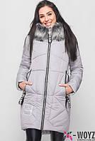 Красивая и модная зимняя куртка. Полупальто. Пуховик