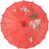 Зонт декоративный 38х55 см красный (5907)