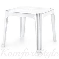 Стол квадратный для детей пластиковый цвета в ассортименте
