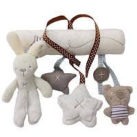 Детские игрушки на кроватку для новорожденных