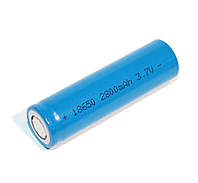 Перезаряжаемая батарейка (аккумулятор) 18650, 2800 mAh, Godp, 1 шт, Li-ion, Bulk 3.7v Blue