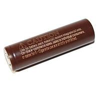 Перезаряжаемая батарейка (аккумулятор) 18650, 3000 mAh, LG ICR18650HG2 (LG HG2), 20A, 4.2/3.6/2.5V, шоколадки