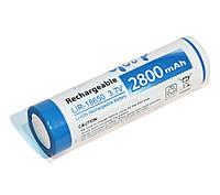 Перезаряжаемая батарейка (аккумулятор) 18650, 2800 mAh, Godp, 1 шт, Li-ion, Bulk 3.7v