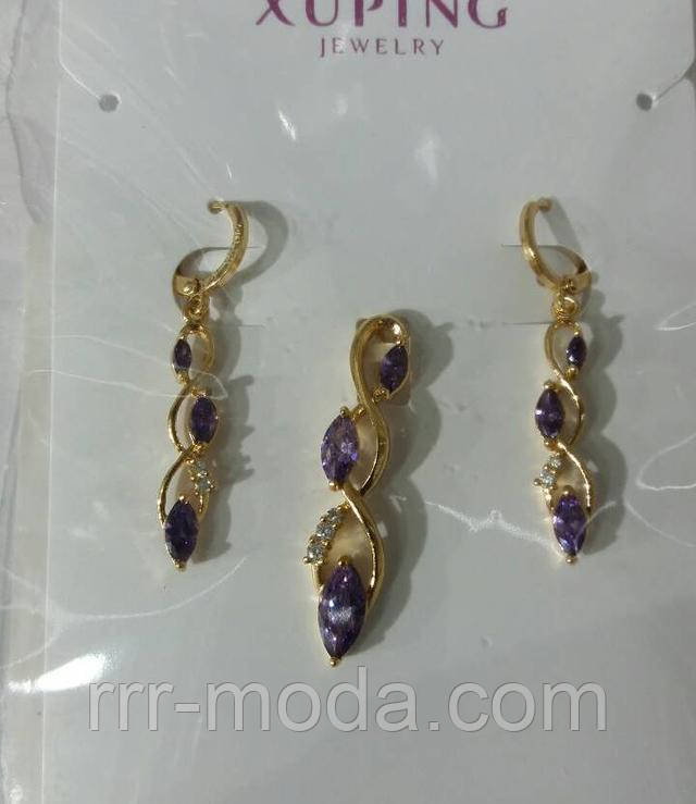 Бижутерия оптом RRR женские наборы бижутерии Xuping