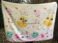 Плед детский мягкий двухсторонний (микрофибра утепленная) 140х110 см, Цвет №1