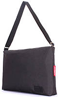 Деловая городская сумка POOLPARTY Agent, agent-oxford, цвет - черный.