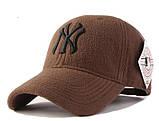 Зимняя бейсболка New York. Кепка NY. Качественные бейсболки. Мужские бейсболки. Лучший выбор бейсболок., фото 2