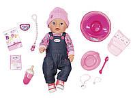 Кукла BABY BORN - ДЖИНСОВЫЙ СТИЛЬ (43 см, с аксессуарами), фото 1