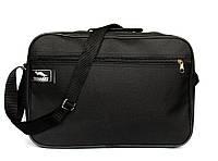 Вместительная мужская сумка под А-4