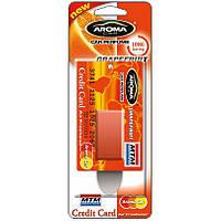 Aroma Car Credit Card 4ml - GRAPEFRUIT