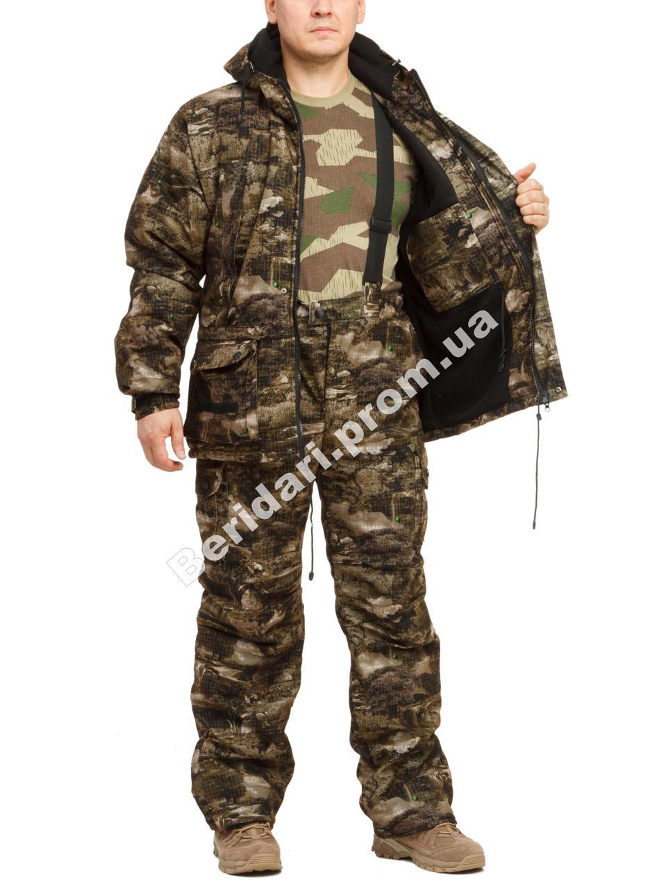 """Утепленный костюм для рыбалки и охоты   """"Болото"""",мембранная ткань   +15 до -5°C."""