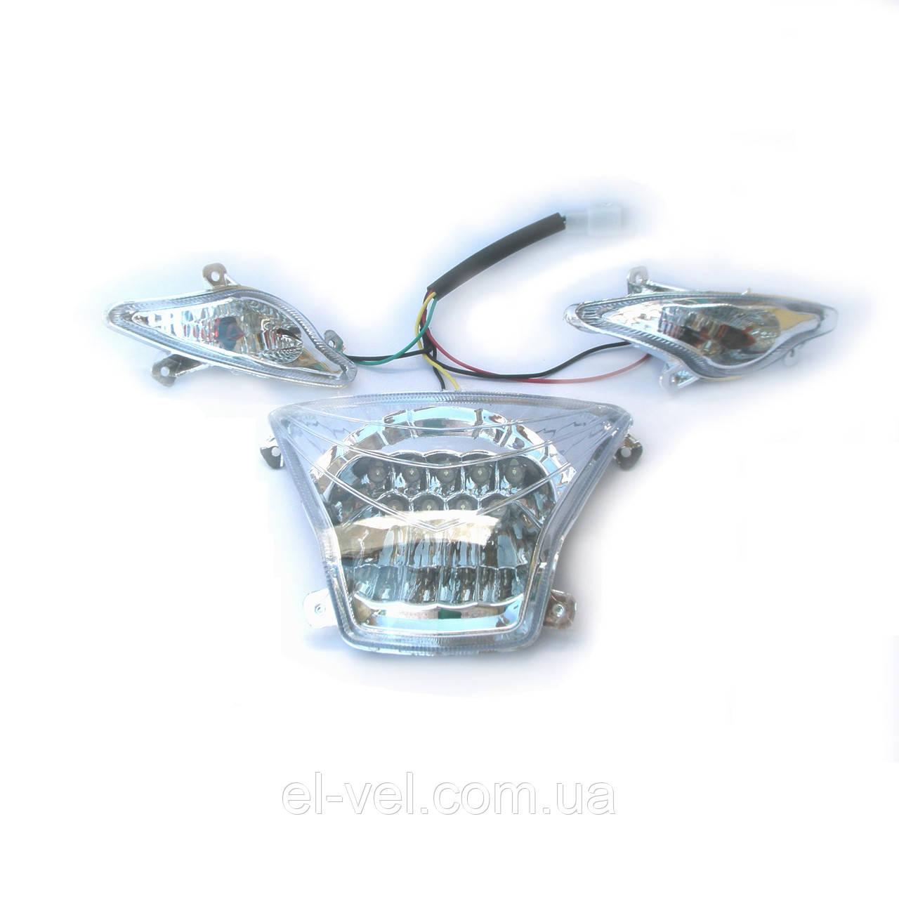 Комплект передних фар к модели электровелосипеда BL-ZZW  60V