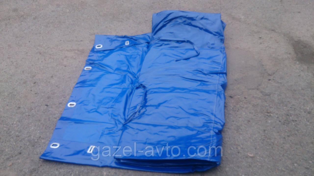 Тент Газель стандарт L=3.17м 2-х сторонний усиленный нового образца синий (пр-во Бояре,Россия)