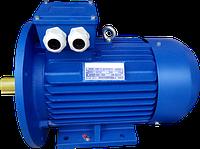 Электродвигатель  АИР132М6 7,5кВт 1000об/мин 380V лапы + фланец исполнение IM 2081