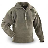 Пуловер (свитер) горно-егерский на пуговицах, ВС Австрии. Оригинал. Новый.