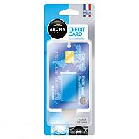 Ароматизатор Aroma Car Credit Card 4ml - AQUA