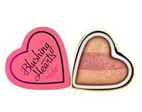 Румяна-хайлайтер запеченный Makeup Revolution - Peachy Keen Heart