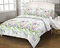 ЕВРО Комплект постельного белья БЯЗЬ  ZASTELLI (100 % хлопок) 1001