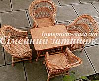 Мебель плетеная на 4 человека