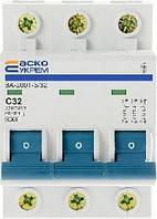 Автоматический выключатель Аско УкрЕМ ВА-2001 3p 32А