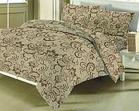 ЕВРО Комплект постельного белья БЯЗЬ  ZASTELLI (100 % хлопок) 8700