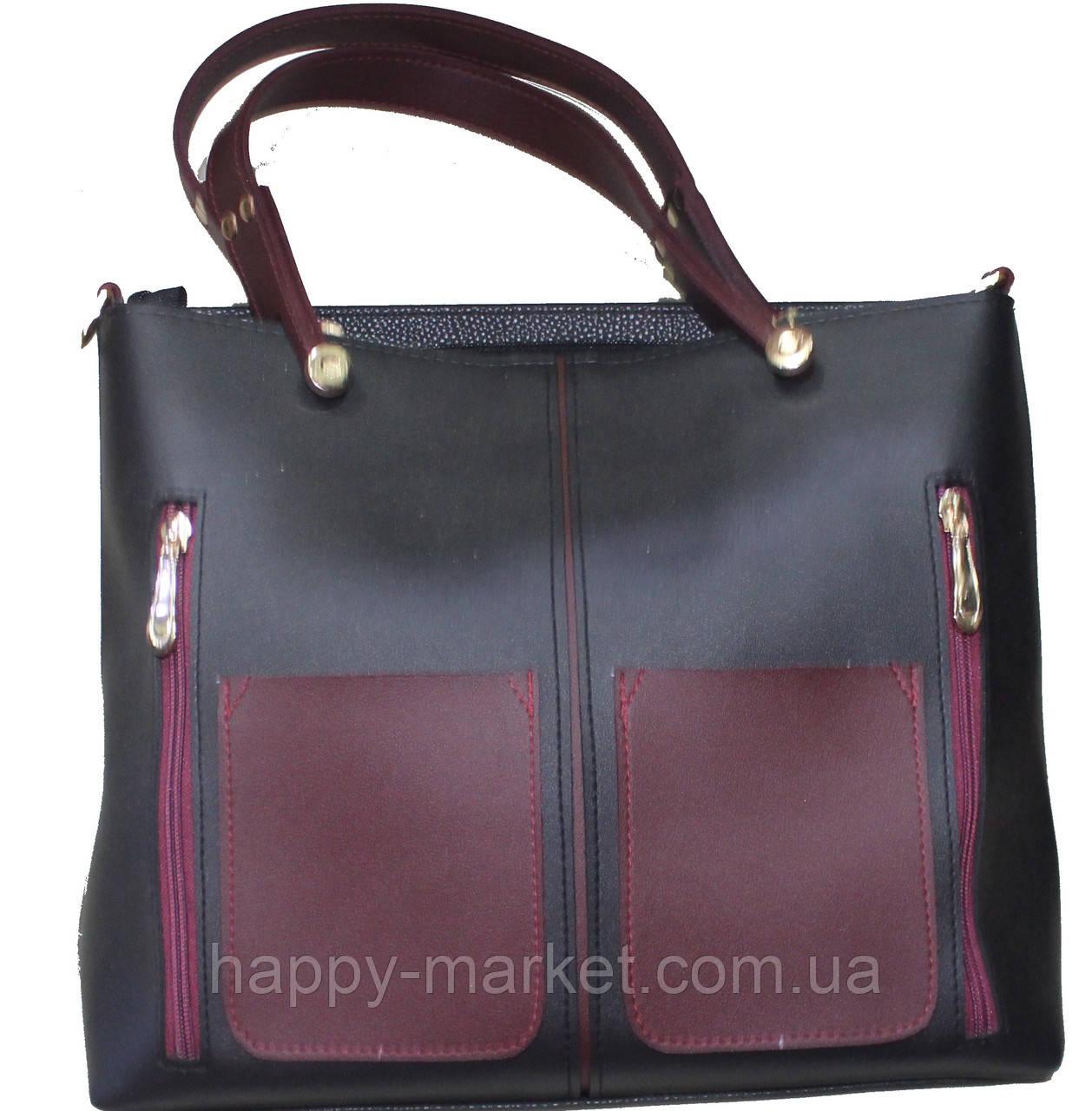 d58a12778c27 Сумка женская стильная экко-кожа 18-20-1, цена 800 грн., купить ...