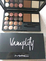 "Набор тени + пудра MAC ""Vamplify"" 16 color"