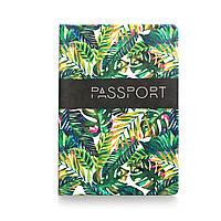 """Обложка для паспорта """"Пальмовые листья"""""""