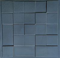 """Пластикова форма для виготовлення 3d панелей """"Квадрат"""" 50 * 50 (форма для 3д панелей з абс пластика), фото 1"""