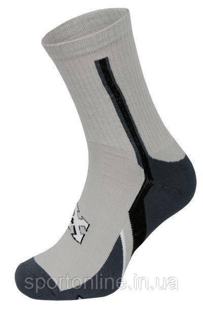 Треккинговые носки Radical Crew (original) термоноски средней длины демисезонные светло серые