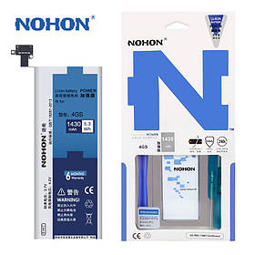 Акумулятор Nohon 616-0579 для Apple iPhone 4S (ємність 1430mAh)