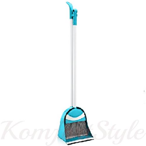 Комплект для уборки «Лентяйка Пингвин» щетка совок цвета в ассортименте