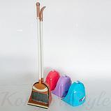 Комплект для уборки «Лентяйка Пингвин» щетка совок цвета в ассортименте, фото 2