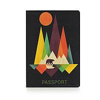 Обложка на паспорт с рисунком