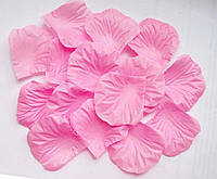 Лепестки роз 100 шт розовые искусственные. Цвет розовый.
