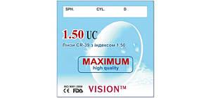 Линза для очков CR-39 VISON™ с индексом 1,50 Астигматические (без покрытия)
