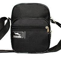 Компактная мужская сумка на плечо и пояс