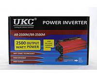 Преобразователь AC/DC AR 2500W (c функции плавного пуска преобразователя), автомобильный преобразователь UKC