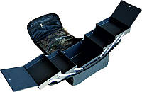Чемодан мастера CH-2700-140, синий, на змейке, из ткани. Внутри имеет ящики для инструментов., Чемодан для мастера
