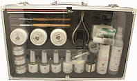 Набор для наращивания ногтей YRE NNN-00 в чемодане (YL), все для наращивания ногтей, стартовый набор для наращивания ногтей