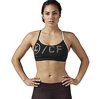 Женский спортивный бюстгальтер Reebok CrossFit Strappy (Артикул: BQ5154)